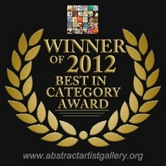 2012 Award at www.abstractartistgallry.org - © Gérard Stricher