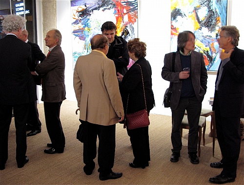 opening exhibition - © Gérard Stricher